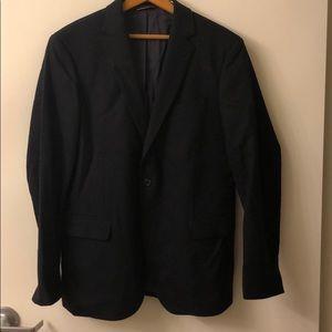 Gant Navy Blue Wool Sport Coat